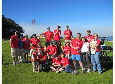 San Francisco Field Day T-Shirt Photo