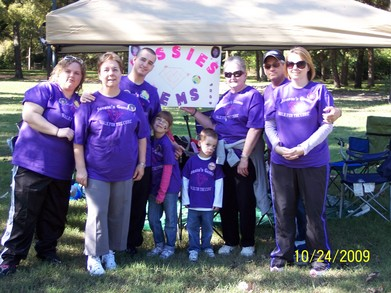 Walking For The Cure T-Shirt Photo