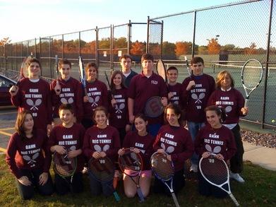 Tennis Team T-Shirt Photo