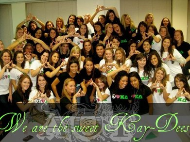 Kappa Delta Bid Day 2009 T-Shirt Photo
