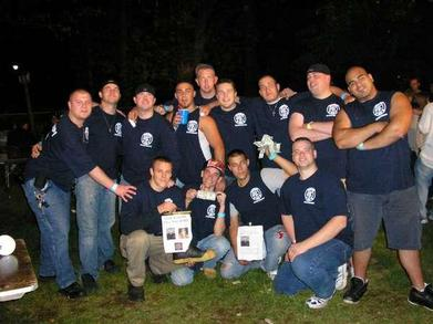 Tgfc Charity Party To Raise Money For Fallen Firefighters T-Shirt Photo