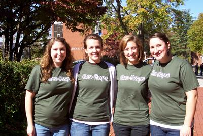 Rider Princeton Campus Eco Reps T-Shirt Photo