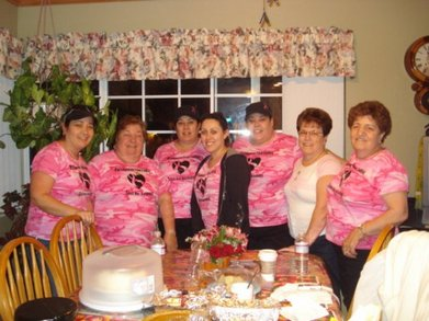 Pinkladies Breast Cancer Awareness T-Shirt Photo