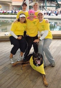 Team Keep Hope Alive  Featuring Captain Bailey The Dog T-Shirt Photo