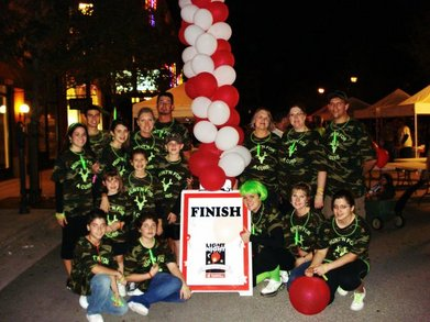 Lls   Light The Night Walk: Hunt'n For A Cure T-Shirt Photo