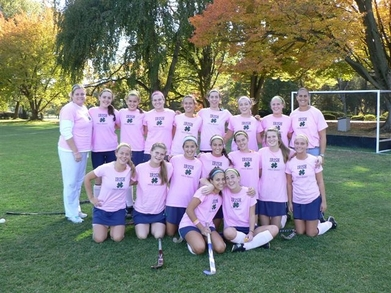 Notre Dame Field Hockey 2009 T-Shirt Photo