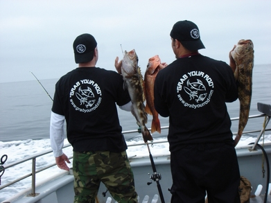 """Grab Your Rod"" T-Shirt Photo"