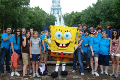 Good Vybs At Kings Dominion T-Shirt Photo