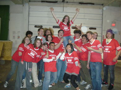 2009 Boston University Marching Band Pit T-Shirt Photo