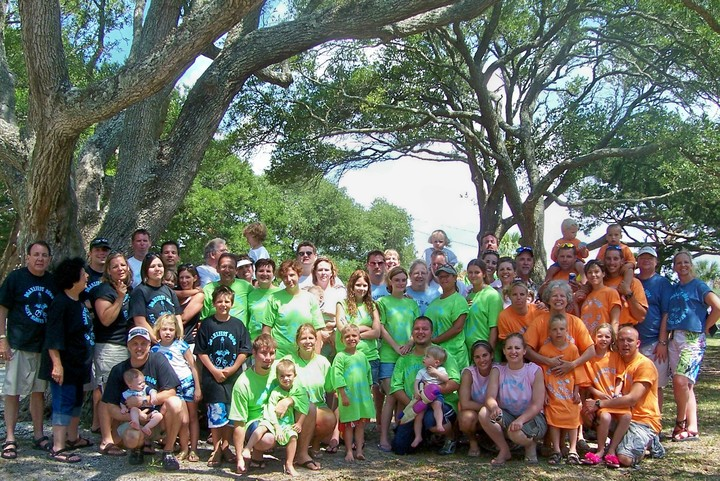 Saint Simons Island Family Reunion T-Shirt Photo