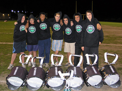 Homestead Snare Line Rocks Custom Ink Hoodies! T-Shirt Photo