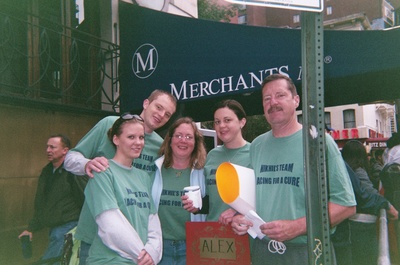 Niks Team At Nyc Marathon 2009 T-Shirt Photo