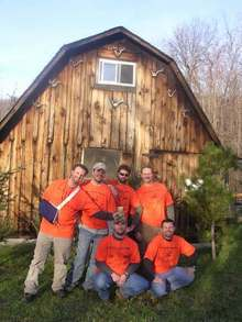 Good Times At The Hunting Cabin T-Shirt Photo