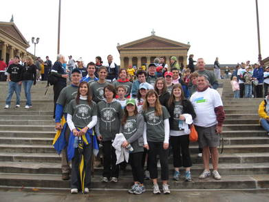 Team Hark The Shark Race For Hope 2009 T-Shirt Photo