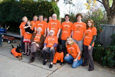 Hickman Family Thanksgiving '09 T-Shirt Photo