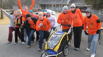 Post Tangs Giving 5 K Turkey Trot T-Shirt Photo