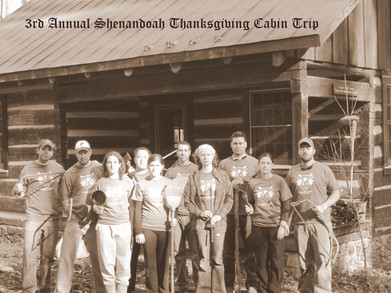 3rd Annual Thanksgiving Cabin Trip T-Shirt Photo