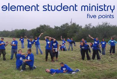 Element Student Ministry T-Shirt Photo