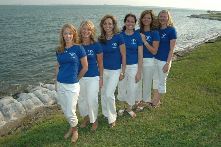 Eye Catcher Lady Angler Team T-Shirt Photo