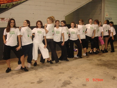 Dance Team Girls T-Shirt Photo
