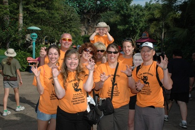 Giving Everyone A Scare In Walt Disney World! T-Shirt Photo