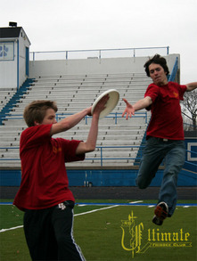 Ultimate Frisbee In Action T-Shirt Photo