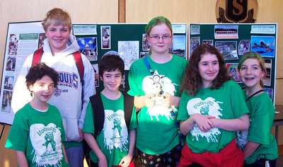 Legophers Win 2nd Place For Research Project T-Shirt Photo
