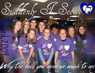 Whs Colorguard Loves Ms. Cass T-Shirt Photo