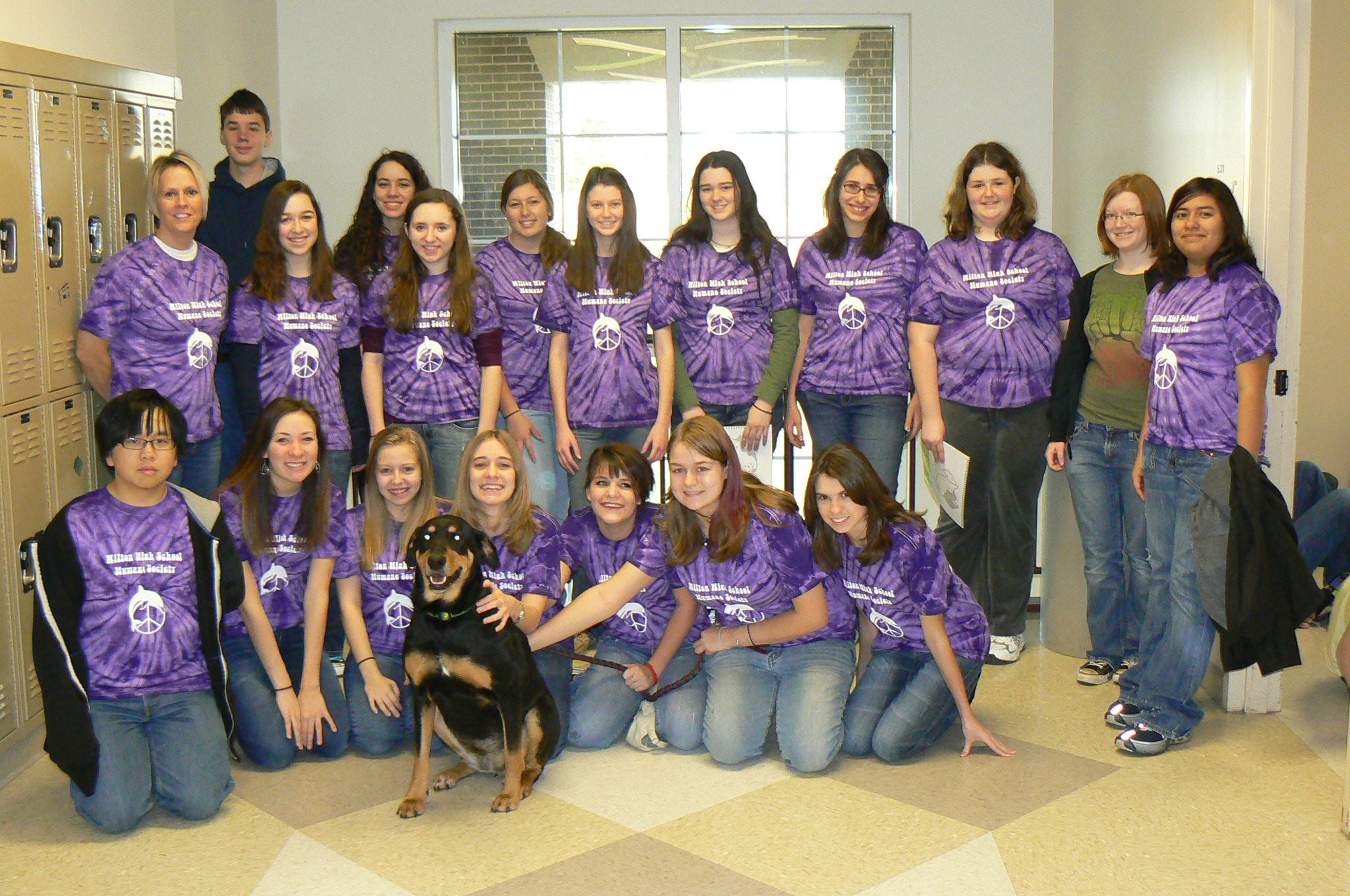 Custom T-Shirts for Humane Society Club