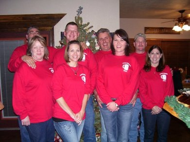 Christmas Party 09 At Fort Hatfield T-Shirt Photo