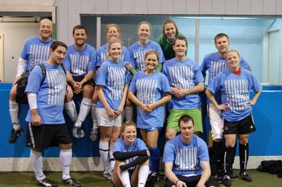 '09 Christmas Co Ed Indoor Soccer Tourney (Sos) T-Shirt Photo