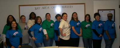 Bay Area Crisis Nursery Staff Get A New Look T-Shirt Photo