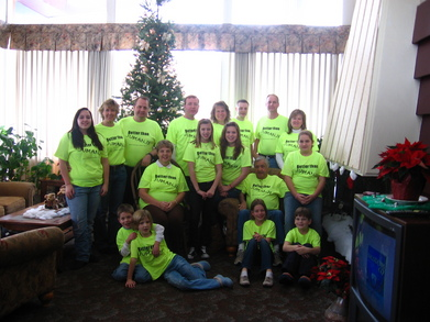 Bloom Family Christmas, Rhinelander Wisconsin T-Shirt Photo