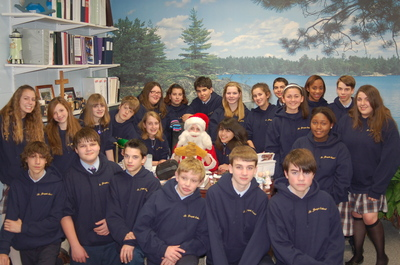 Class Of 2010 Meets Santa T-Shirt Photo