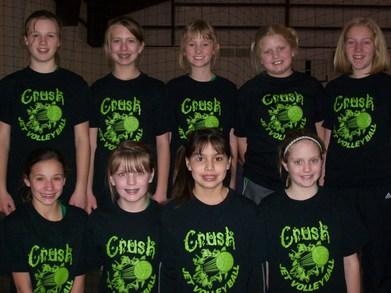 Crush 1st Tournament T-Shirt Photo