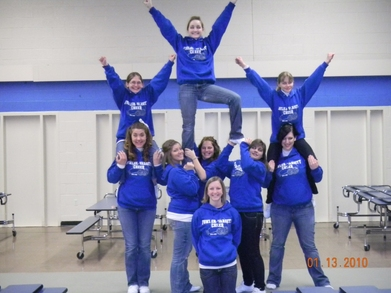 Fowler Varsity Cheer 2009 2010 T-Shirt Photo