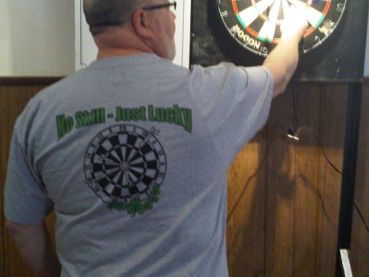 Dart shirt design your own - Sal City Dart Tournament 2010 T Shirt Photo