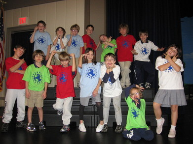 3rd Grade Earth Assembly T-Shirt Photo