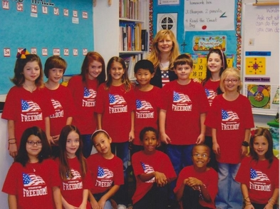 3rd Gr. Patriotic Program T-Shirt Photo