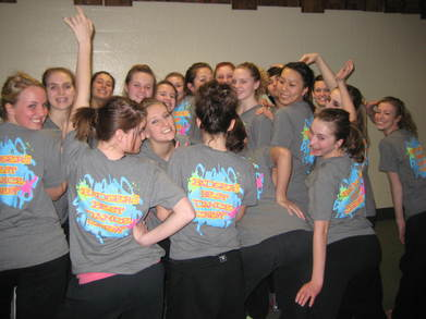 Badger's Best Dance Crew!! T-Shirt Photo