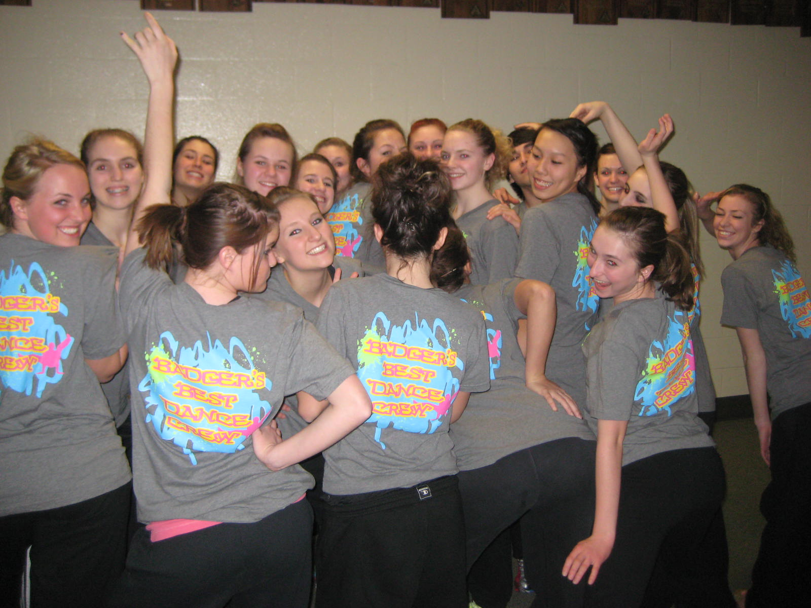 Custom t shirts for badger 39 s best dance crew shirt for College dance team shirts
