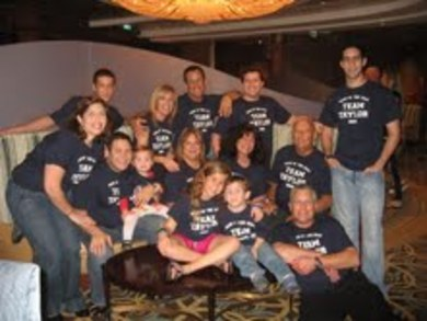 Team Taylor 2009 T-Shirt Photo