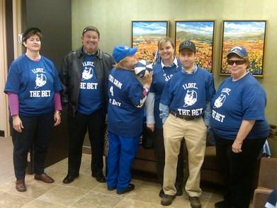 Unc Fanz Turned Duke Fan For The Day T-Shirt Photo