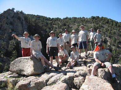 Our First Day On The Trail In New Mexico T-Shirt Photo