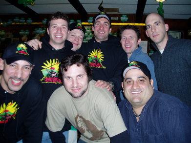 Team Rasta Celebrates Their Hockey Championship T-Shirt Photo