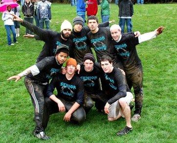 Powderpuff Cheer Champs! T-Shirt Photo