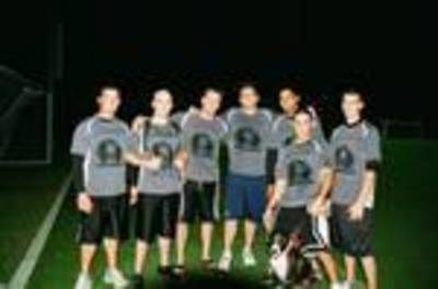 Lockdown Flag Football T-Shirt Photo