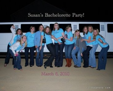 Susan's Bachelorette Party T-Shirt Photo
