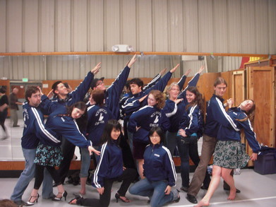 Uc Santa Cruz Ballroom Dance Team! T-Shirt Photo