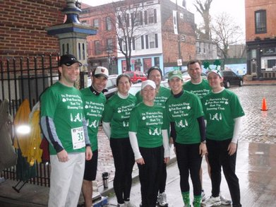 St. Patty's Day Pub Run T-Shirt Photo